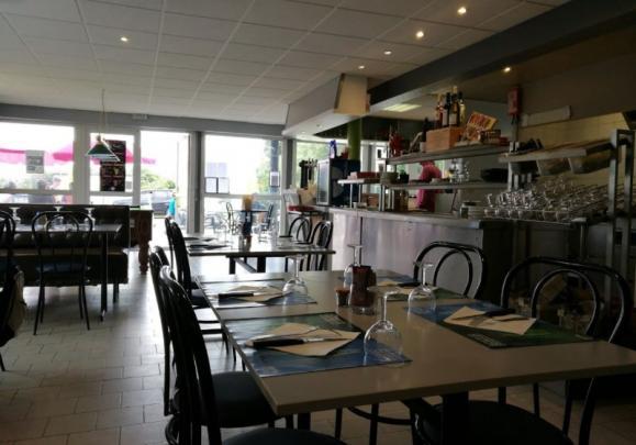 Intérieur du restaurant Longues-sur-Mer